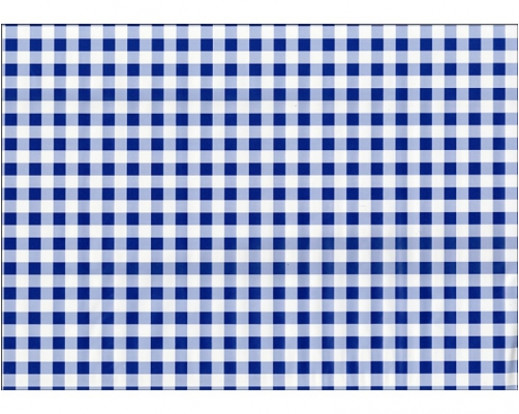 Samolepicí fólie Check blue - modrá kostička 12819