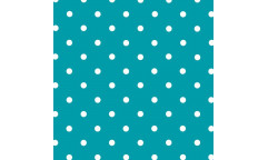 Samolepicí fólie Petersen blau - Puntíky 346-0628