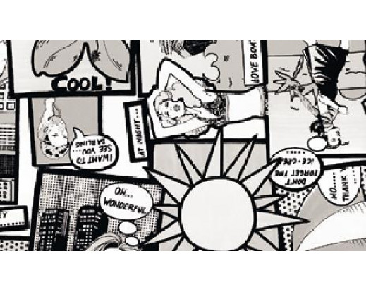 Samolepicí fólie Comic - Komiks 11940