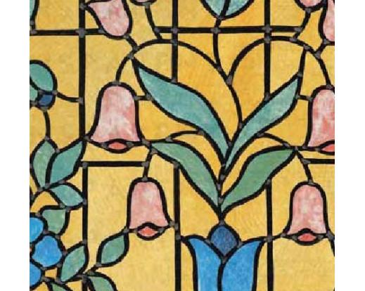 Samolepicí fólie na sklo Nizza - Vitráž 11825