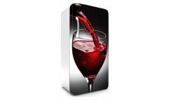Samolepicí fototapeta na lednici Wine, Víno