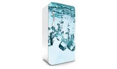 Samolepicí fototapeta na lednici Ice Cubes, Kostky ledu