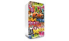 Samolepicí fototapeta na lednici Graffiti