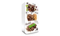 Samolepicí fototapeta na lednici Chocolate, Čokoláda