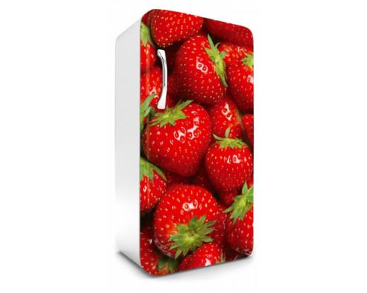 Samolepicí fototapeta na lednici Strawberry, Jahody