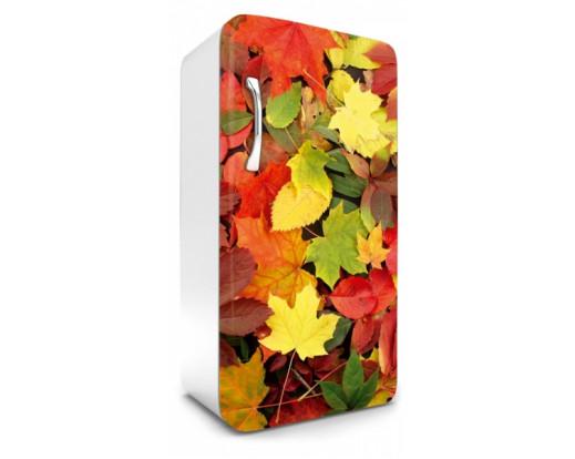 Samolepicí fototapeta na lednici Colourful Leaves, Barevné listy