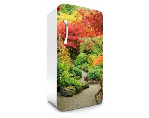 Samolepicí fototapeta na lednici Garden, Zahrada