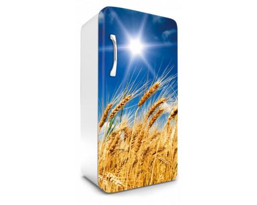 Samolepicí fototapeta na lednici Wheat Field, Pšeničné pole