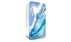 Samolepicí fototapeta na lednici Wave, Vlna