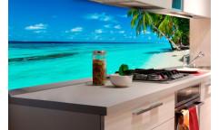 Samolepicí fototapeta k lince Paradise beach, Pláž v ráji