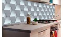 Samolepicí fototapeta k lince Cube wall, 3D krychlová zeď