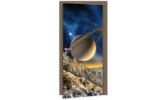 Samolepicí fototapeta na dveře Spacescape DL002 Vesmír