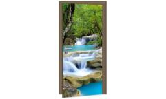 Samolepicí fototapeta na dveře Waterfall DL004 Vodopády