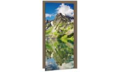 Samolepicí fototapeta na dveře Lake DL006 Jezero