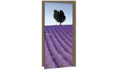 Samolepicí fototapeta na dveře Lavender DL010 Levandule