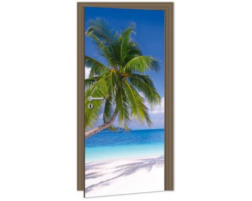 Samolepicí fototapeta na dveře Beach DL015 Pláž