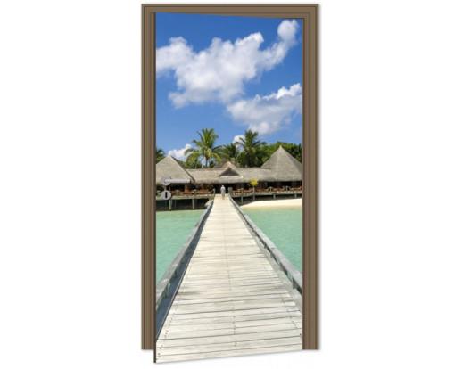 Samolepicí fototapeta na dveře Jetty DL016 Molo