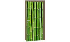 Samolepicí fototapeta na dveře Bamboo DL021 Bambus