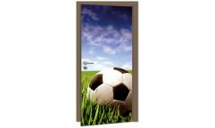 Samolepicí fototapeta na dveře Soccer Ball DL026 Fotbalový míč