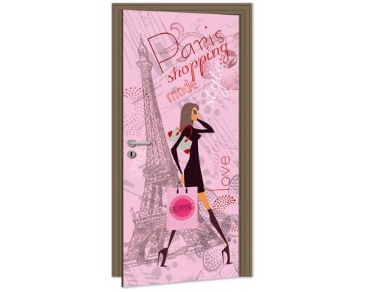 Samolepicí fototapeta na dveře Paris Style DL045 Styl Paříž
