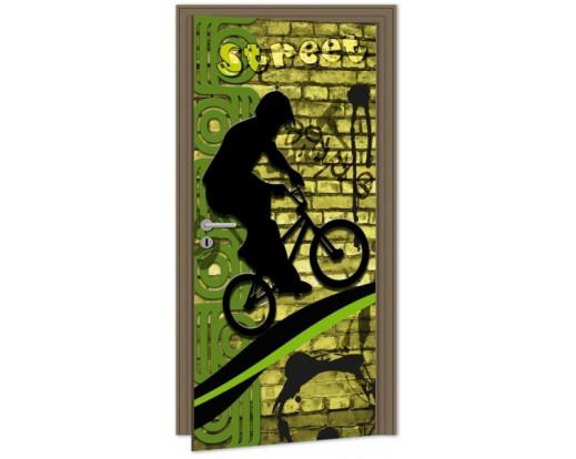 Samolepicí fototapeta na dveře Bicycle DL046 Kolo