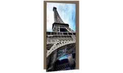 Samolepicí fototapeta na dveře Eiffel Tower DL049 Eiffelovka