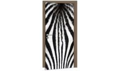 Samolepicí fototapeta na dveře Zebra DL060
