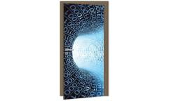 Samolepicí fototapeta na dveře Binary Stream DL036 Binární kód