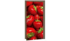 Samolepicí fototapeta na dveře Strawberries DL053 Jahody