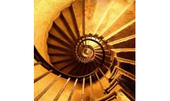 Samolepicí fototapeta na podlahu Staircase,Točité schodiště