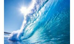 Samolepicí fototapeta na podlahu Wave, Vlna