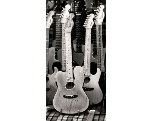 Samolepicí fototapeta na podlahu Guitars, Kytary