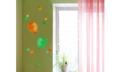 Popisovací samolepka Party Time 54404 Nafukovací balonky