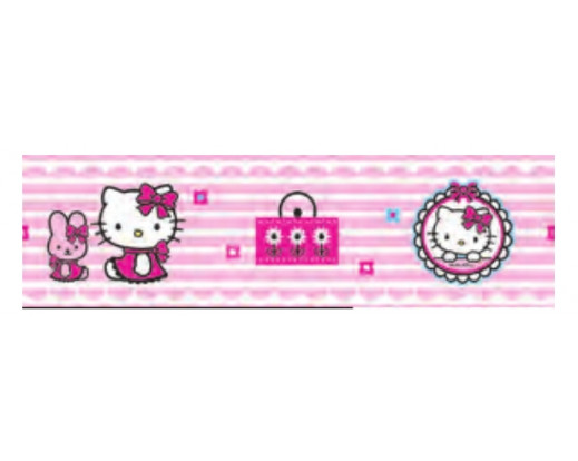 Samolepicí bordura Hello Kitty D42260