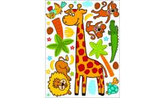 Samolepka ZOO žirafa K 1043
