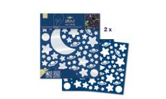 Svítící samolepka Hvězdy 79223