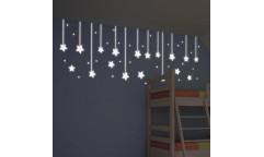 Svítící samolepka Hanging Stars 79227 Hvězdy