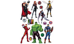 Samolepka Avengers DK 2326
