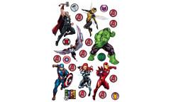 Samolepka Avengers DKM 1739