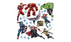 Samolepka Avengers DKs 3817