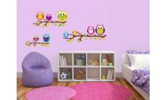 Samolepka Owls, Sovičky ST1 029