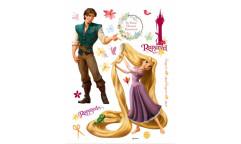 Samolepka Rapunzel DK 852 Na vlásku