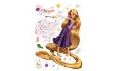 Samolepka Rapunzel DK 854 Na vlásku