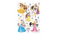 Samolepka Princezny a koně DK 1773