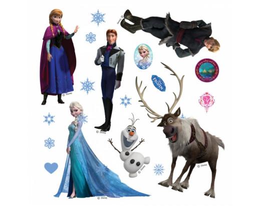 Samolepka Frozen, Ledové království DKs 1082
