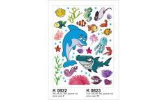 Samolepka Mořský svět K 823, K 822