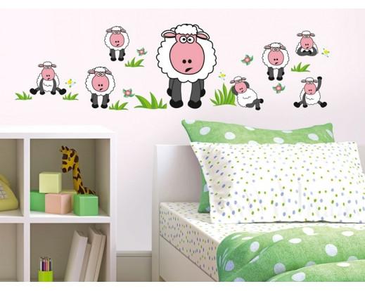 Samolepka Sheep, Ovečky ST1 003