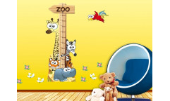 Samolepka Animal meter, Zvířátka, Metr ST2 001
