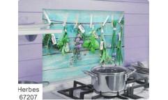 Samolepka do kuchyně Herbes 67207 Bylinky