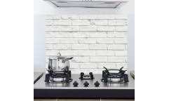 Samolepka do kuchyně White Bricks 67214 Bílé cihly
